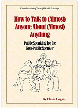 public speaking for the non public speaker