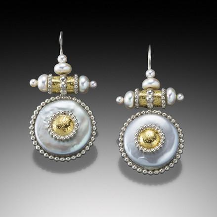 Byzantine Coronation Earrings
