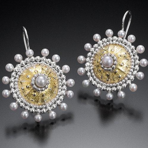 Byzantine Sunburst Earrings