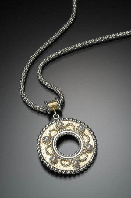 Byzantine Open Medallion Pendant