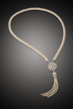 Byzantine Tassel Necklace