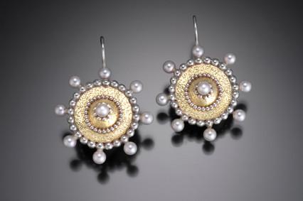 Byzantine Starburst Earrings
