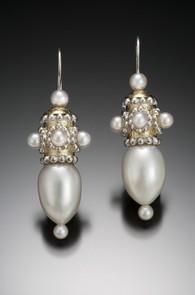 Byzantine Snowdrop Earrings