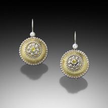 Byzantine Bubble Earings with Yellow Diamonds