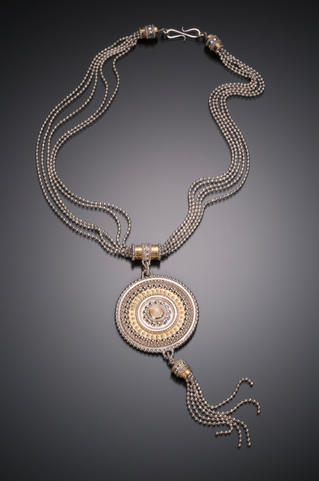 Byzantine Tassel Medallion