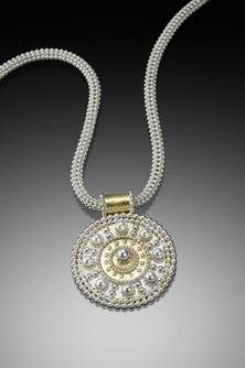 Byzantine Shield Necklace
