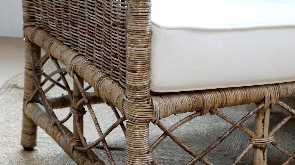 Nantes Wicker Chair w. cushions