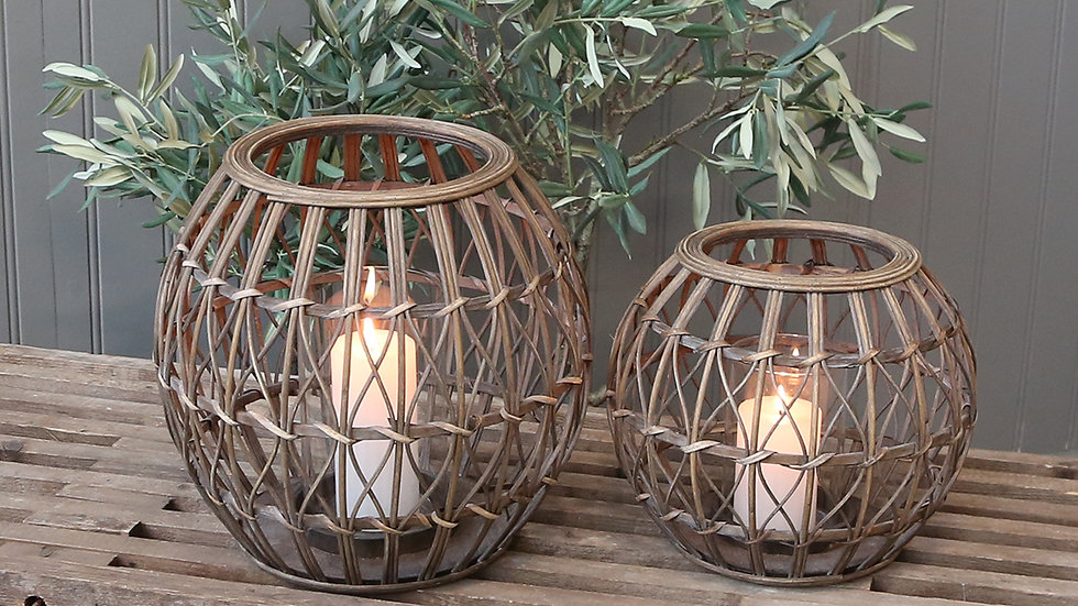 Rattan Garden Lantern