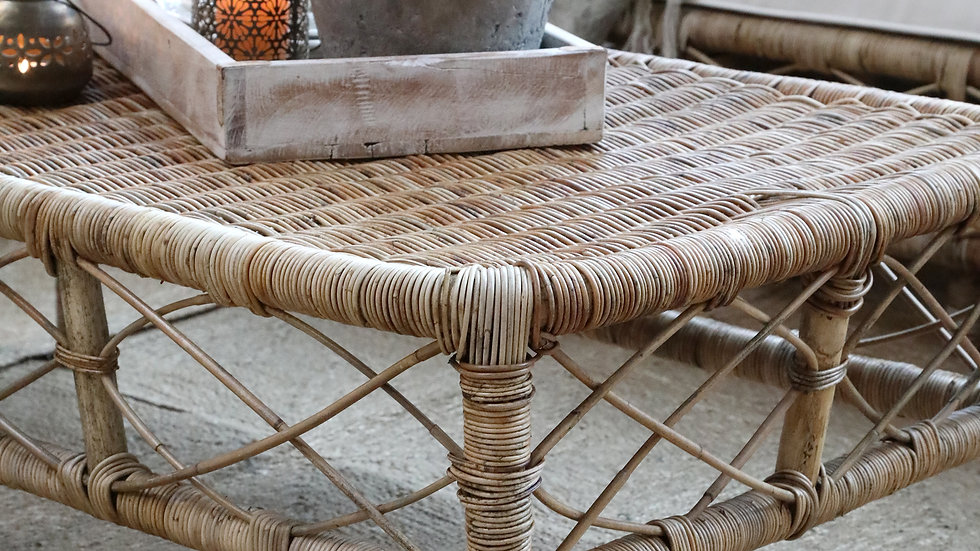 Nantes Wicker Coffee Table