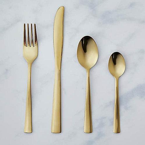 Cutlery Set - Gold