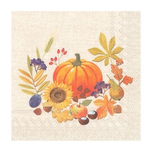 Little Pumpkin Luxury Paper Napkins
