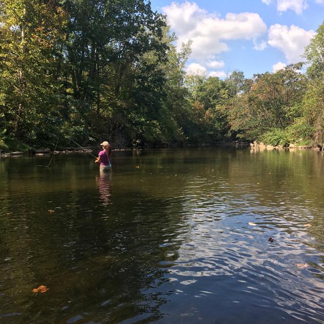 YasminFlyfishing River.JPG