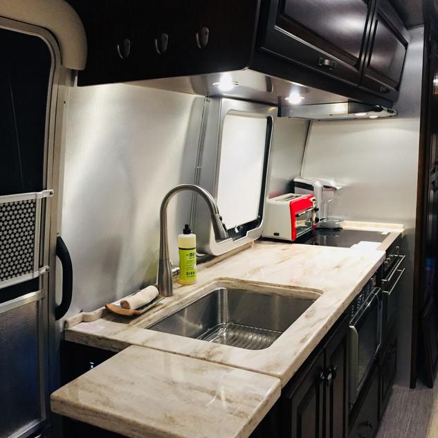 Airstream One Kitchen