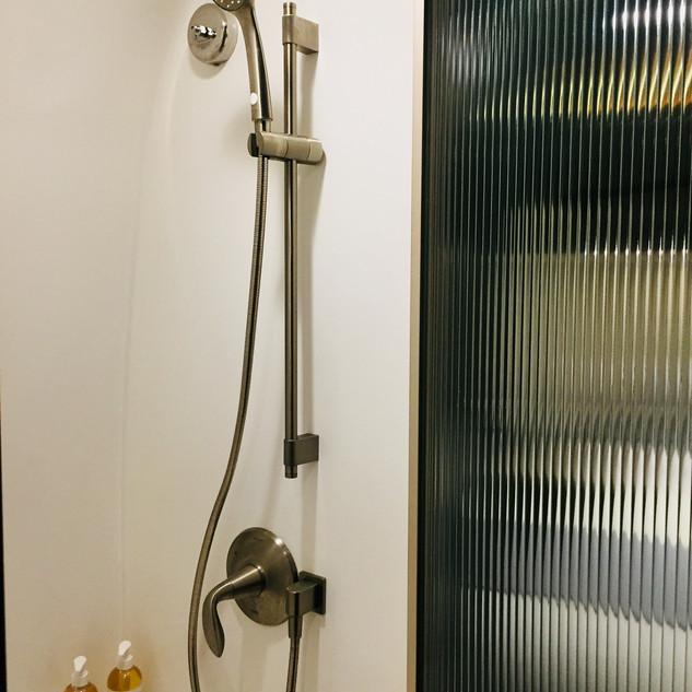 Airstream One Shower