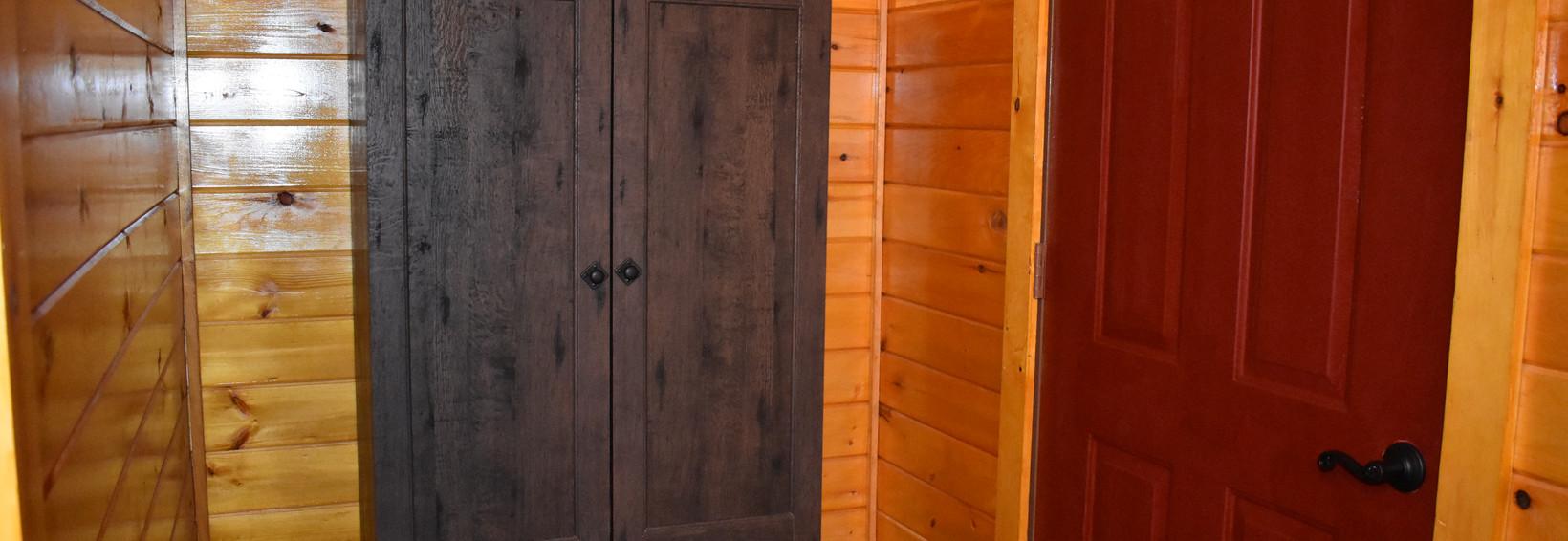 Hummingbird Cabin Armoir