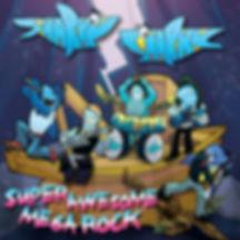 Sharky Sharky - Super Awesome Mega Rock album cover