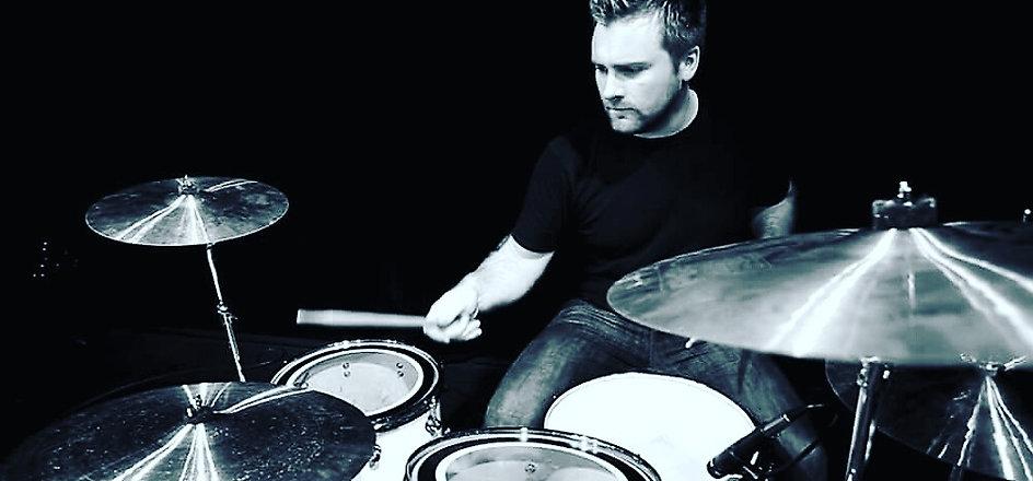 Sam Lumsden Drumming Shot