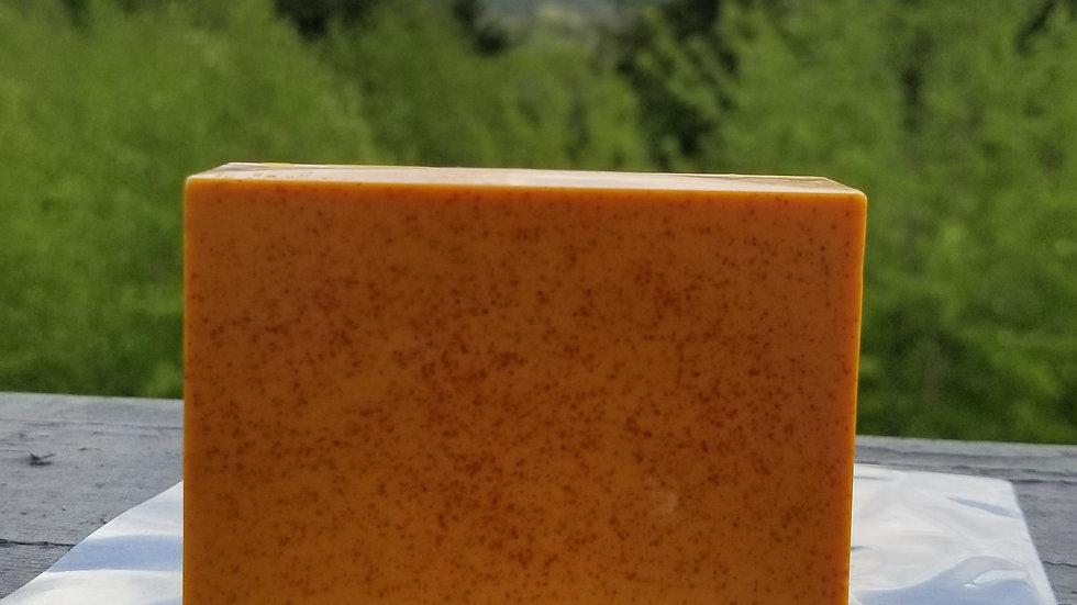Sweet Orange Turmeric Facial Soap   Brightening   Anti-inflammatory   Dark Spots