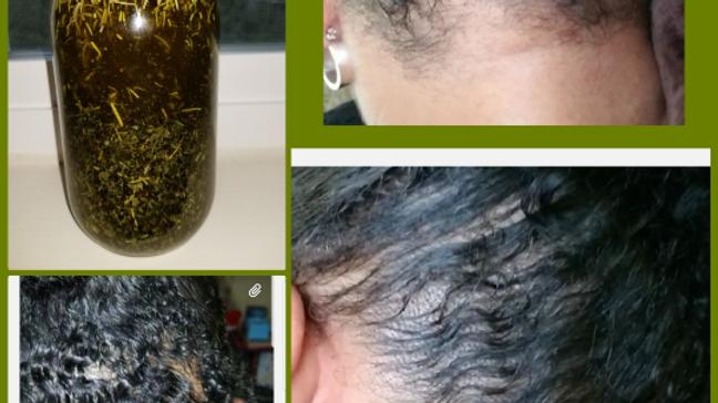 Organic Hair Growth Serum | Hair Loss | Long Hair | Thinning Hair Serum