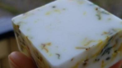 Lavender Vanilla Facial Soap with Calendula | Soothing Soap | Radiant Skin