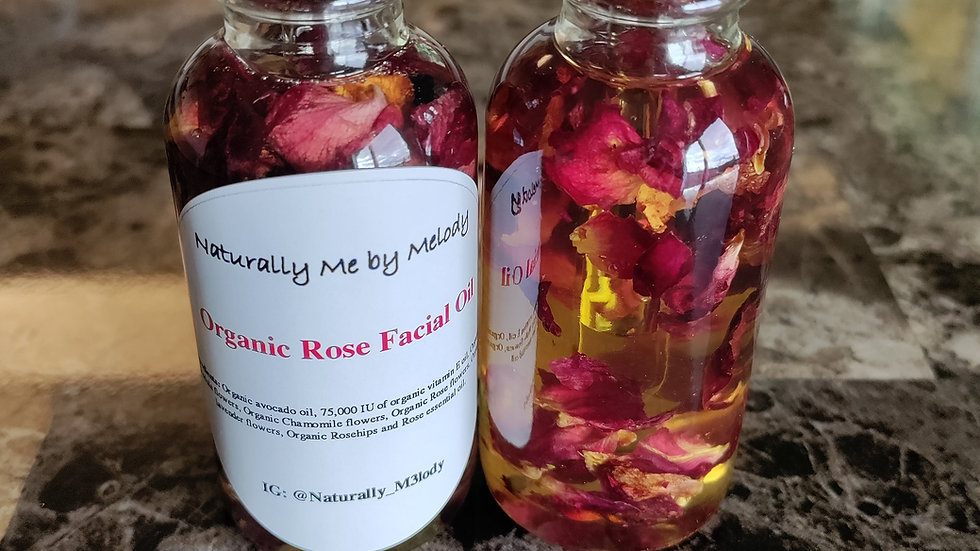 Organic Rose Oil | Hydrating