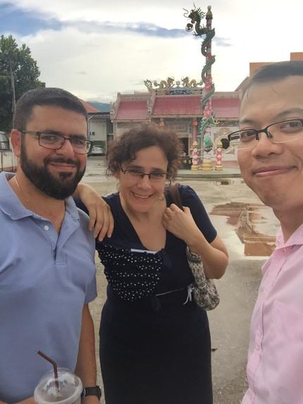 Dr. Tsaousis' visit at the Mae Fah Luang University, Chiang Rai, Thailand
