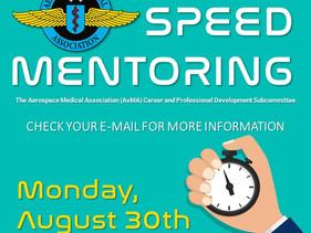 Aerospace Medical Association (AsMA) 2021 Speed Mentoring