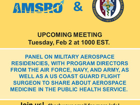 Military Aerospace Residency Panel Meeting