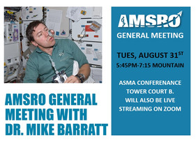 AsMA Conference |  AMSRO General Meeting-Tuesday Aug 31st