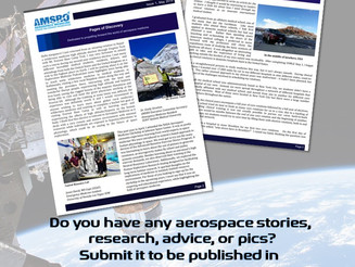 Want to submit to the next issue of The Orbiter?