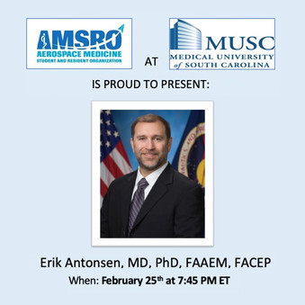 MUSC AMSRO Event February 25th