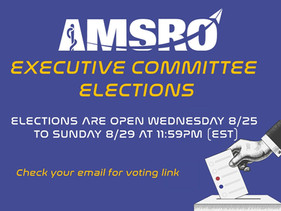 Voting open for 2021-2022 Executive Committee
