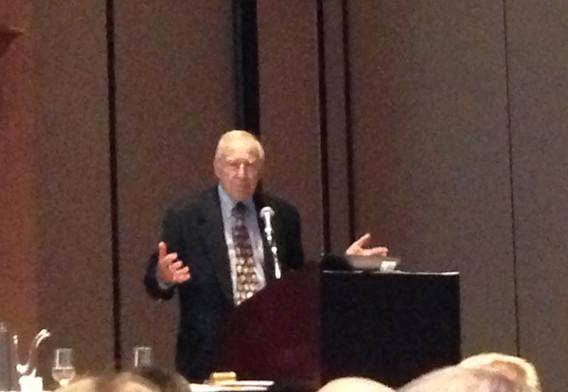 Jim Lovell at NASA Flight Surgeons Lunch
