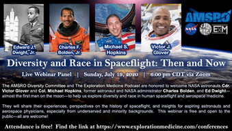 Live Webinar! Diversity and Race in Spaceflight: Then and Now