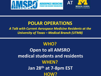 UMich AMSRO Event (Polar Operations)