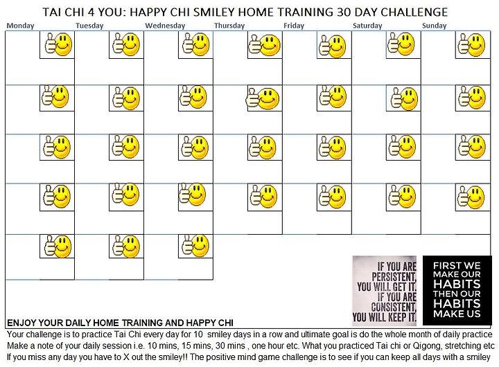 Tai Chi 4 You Happy Smiley Chi Challenge