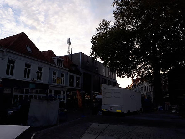5G towers in centre of Bergen op Zoom ph