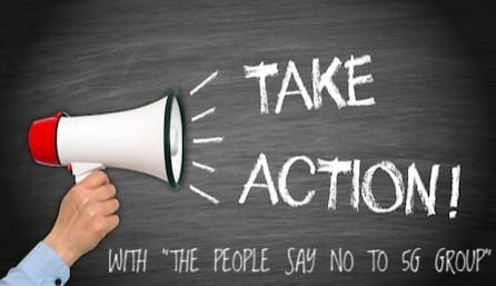 Take action against 5G The people say no