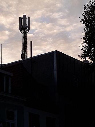 5G towers in centre of Bergen op Zoom.jp