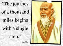 lao-Tzu A Journey of a thousand miles be