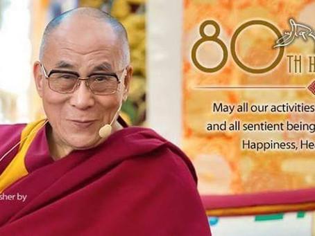 The Dali Lama´s 80th Birthday