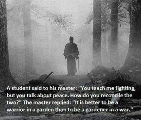 Be a warrior in a garden.jpg