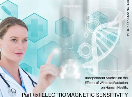 🧑🏼🔬🌐Independent Science on the Effect of Wireless Radiation on Human Health🌐👩🏻🔬