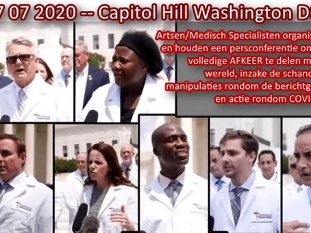 Virologen in US roepen om actie: WAKE UP!!