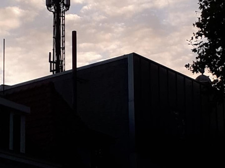 5G towers at the heart centre of Bergen op Zoom