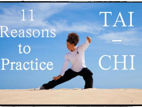 11 Reasons to Practice Tai Chi