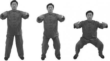 Feel your root and build your internal leg power Tai Chi 4 You