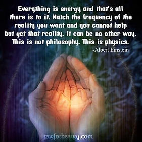 Everything is ebergy A Einstein quote.jp