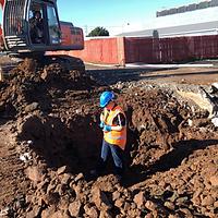 residential-soil-sampling-with-digger
