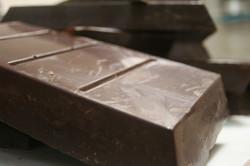 du chocolat noir